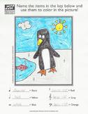 Winter Penguin Music Activity Sheet