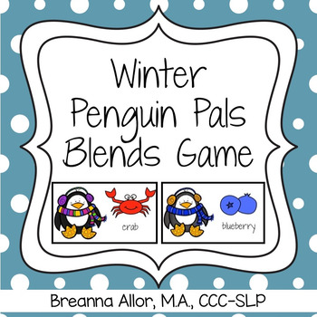 Winter Penguin Pals Blends Game