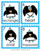 Winter Penguin Shapes Write the Room