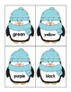 Winter Penguin Sight Word Flashcards