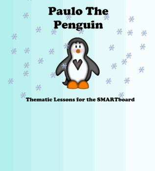 Winter Penguin Themed/Holiday Activity Smart Notebook