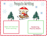 Winter Penguin Writing Practice Game