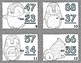 Winter Penguins 2 Digit Subtraction No Regrouping Task Cards