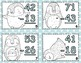 Winter Penguins 2 Digit Subtraction With & Without Regrouping Task Card Bundle