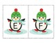 Winter Penguins Alphabet Pack