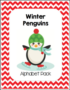 Winter Penguins Alphabet Pack