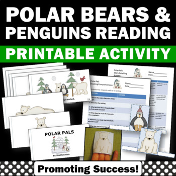 penguins and polar bear activities for kids