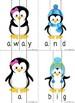 Winter Penguins Sight Word Puzzles Bundle (Pre-Primer and Primer)