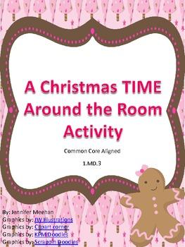 Winter Penguins Telling Time-Common Core Aligned!