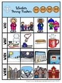 Winter Penny Pusher:  Listening Comprehension Stories