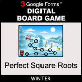 Winter: Perfect Square Roots - Digital Board Game | Google Forms