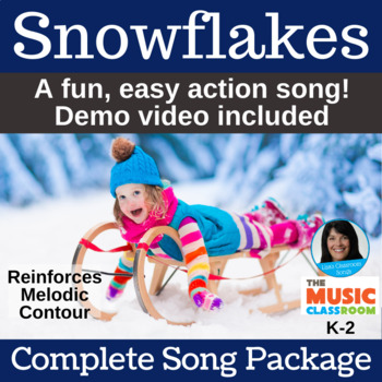 "Winter Performance Song | ""Snowflakes"" by Lisa Gillam 