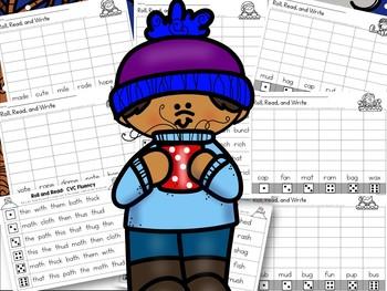 Winter Phonics Activities