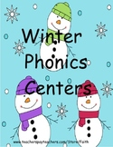 Winter Phonics Centers
