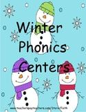 Winter Phonics Centers