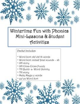 Winter Phonics Packet