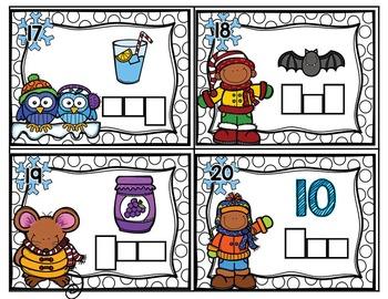 Winter Phonics Task Card Bundle