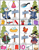 Winter Activities - Rhyming, Syllables, Initial Sounds