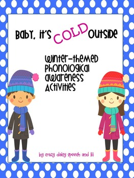 Winter Phonological Awareness Activities for Small Groups