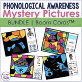 Winter Phonological Awareness Mystery Pictures Boom Cards™