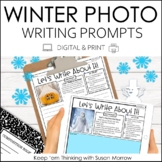 Winter  Photo Writing Prompts | Digital and Print