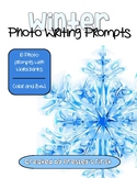Winter Photo Writing Prompts with Word Banks
