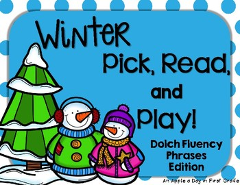 Winter Pick, Read, and Play Phrases