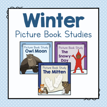 Winter Picture Book Study Bundle