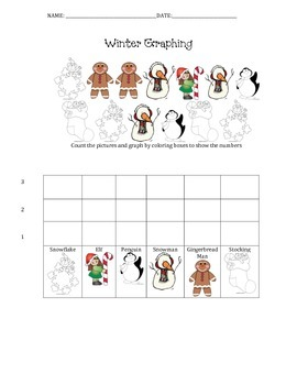 Winter Picture Graphing