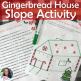 Christmas Winter Picture Slope Activity in Print and Digital