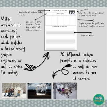 Winter Picture Writing Prompts