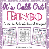 Winter Pictures with Words Bingo Game