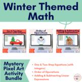 Winter Mystery Pixel Art Bundle