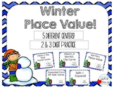 Winter Place Value (2-3 Digit Practice)