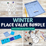 Winter Place Value Activities Bundle