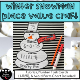 Winter Place Value Craft