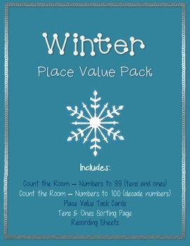 Winter Place Value Station