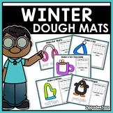 Winter Play Dough Mats Activities
