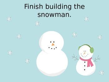 Winter Play Dough/Play-Doh/Playdough Mats