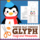 Penguin Glyph Craft and Worksheet