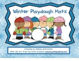 Winter Playdough Mats