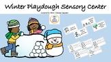 Winter Playdough Sensory Center (playdough not included)