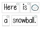 Winter Pocket Chart