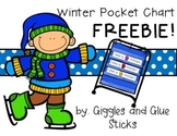 Winter Pocket Chart and Writing FREEBIE