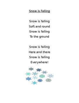 Winter Poem FREEBIE