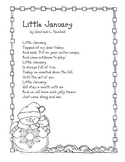 Winter Poem: Little January