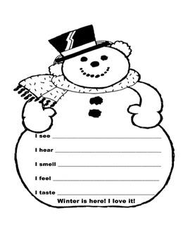 Winter Poem (Lower Grades)