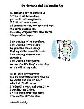 Winter Poem: My Mother's Got Me Bundled Up