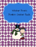 Winter Poem Poetry Center Pack