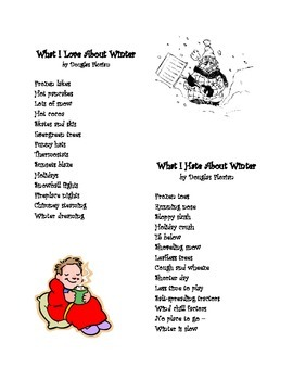 Winter Poem: What I Love & Hate About Winter